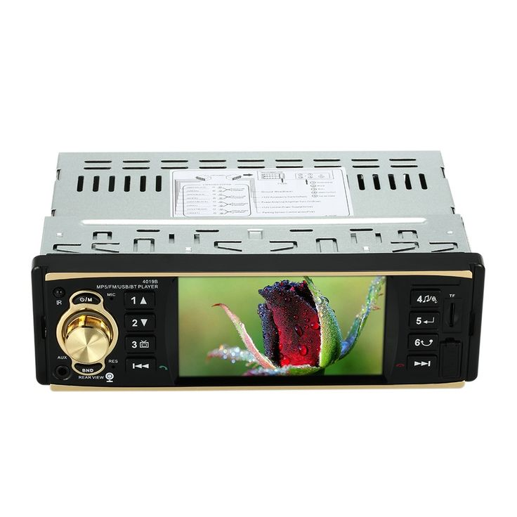 4.1 inch Universal TFT HD 1080P Bluetooth Car Radio MP5 Sale Online Shopping black - Tomtop.com