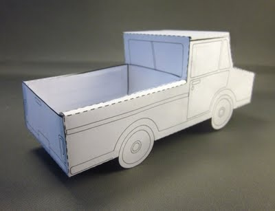 DIY cardboard truck- ZOMBIE APOCALYPS PLAY SET FOR AIDEN? I THINK SO :)