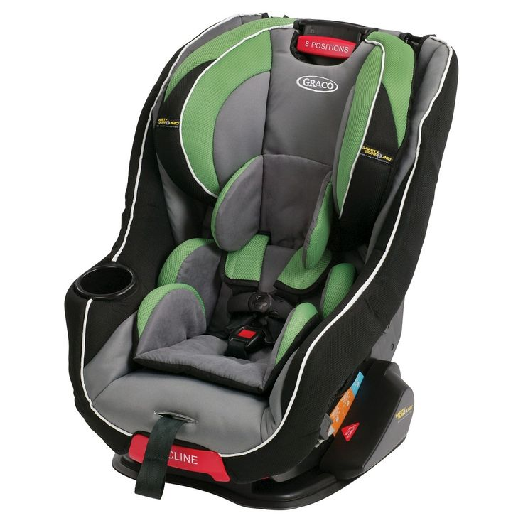 Graco head wise 65 convertible car seat with saf