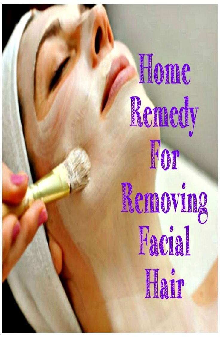 natural facial hair removal, remedy for facial hair, remove facial hair