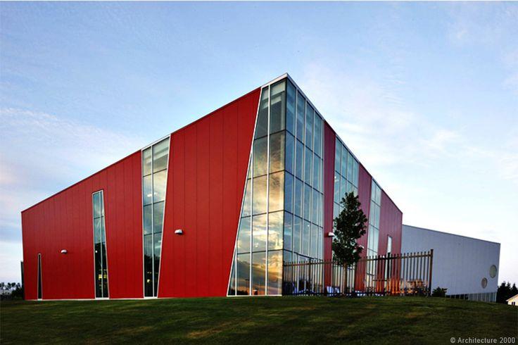 Dan Hanganu architectes - Dieppe aquatic and community center