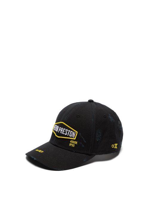 on sale f32be 44dc4 HERON PRESTON HERON PRESTON - HARLEY BASEBALL CAP - MENS - BLACK MULTI.   heronpreston