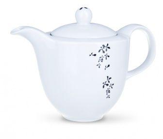 Teiera  Teiera dell'elegante servizio da tè in porcellana decorato con un delicato motivo floreale, ispirato ai motivi tipici della tradizionale porcellana cinese. Il servizio è statoprogettato con la massima accuratezza e studiato nei minimi dettagli per esaltare l'eccellente gusto e l'aroma della bevanda.  La teiera ha una capacità di 1000ml, è adatta al lavaggio in lavastoviglie ed è utilizzabile nel forno a microonde.  #aurile #FMGroup #FMGroupItalia #tè #tea #teatime