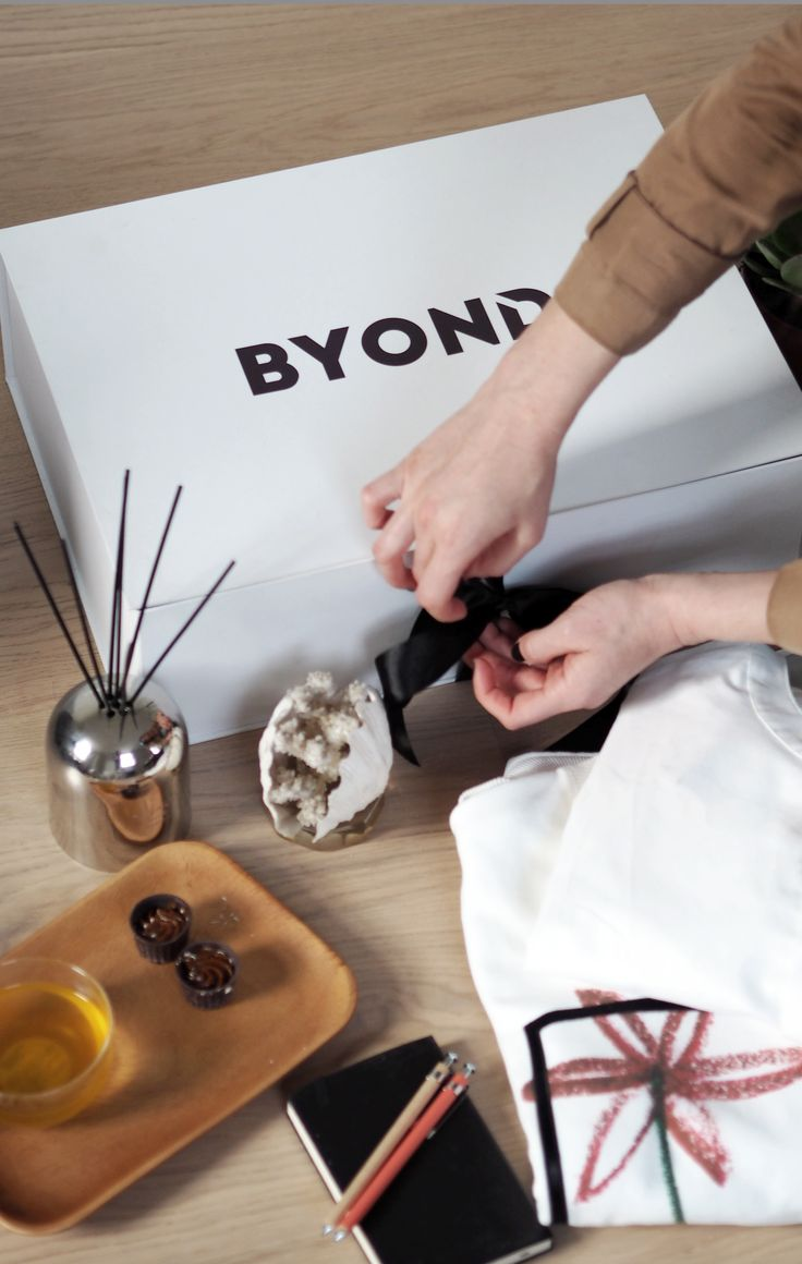 Receiving a Byond box is always an amazing feeling. A feeling that goes way byond fashion #byondlifestyle byondonline.com