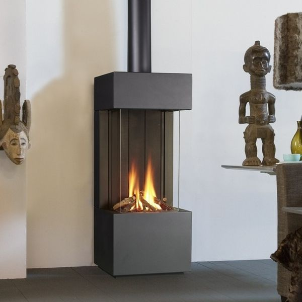 Image result for gas fires freestanding corner