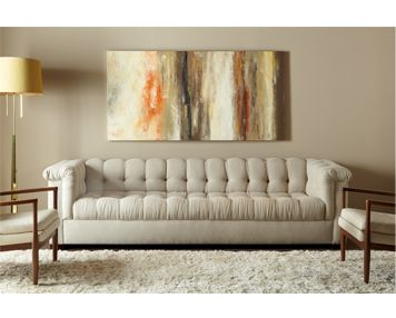 classic with an updated look grant is perfectly tailored and deeply comfortable - American Leather Sofa