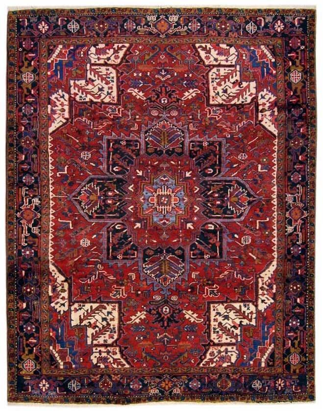 Galleria Farah1970   Tappeti antichi e contemporanei  Heriz 300x250
