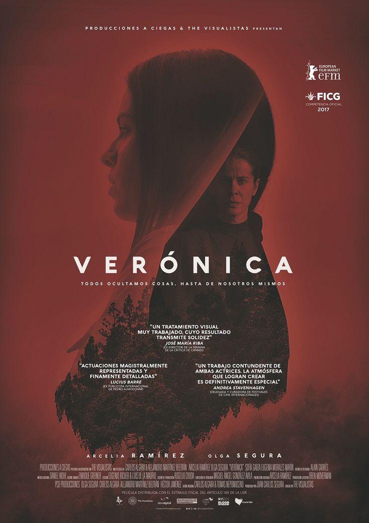 """CORAZÓN FILMS nos presenta una película mexicana donde el psicoanálisis, el suspenso y el terror se mezclan en una mujer llamada: """"Verónica""""."""