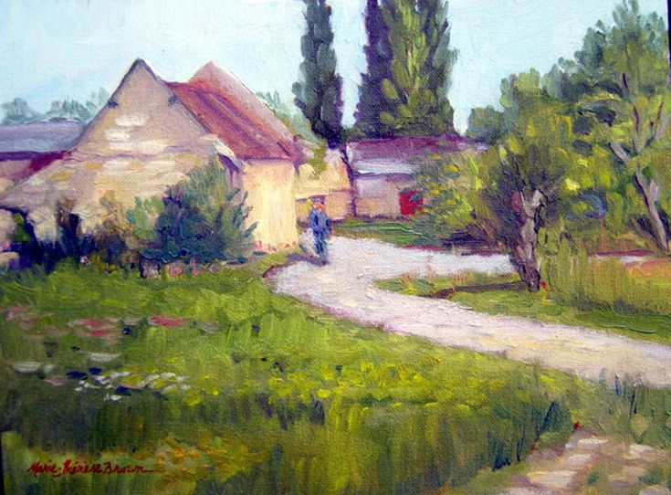 """For the month of February, Marie-Therese Brown's exhibit, """"Return to the Loire,"""" brings a bit of the French summer heat to a wintry Davis. Marie paints in the delta and foothills of the Sacramento Valley and throughout California, especially in Santa Barbara where her two daughters l...  http://www.davisenterprise.com/arts/pence-gallery-bring-some-summer-heat-to-your-february/  #davisenterprise #Art, #Arts"""