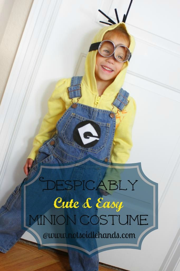 Despicably Cute and Easy Minion Costume | 25+ minion party ideas