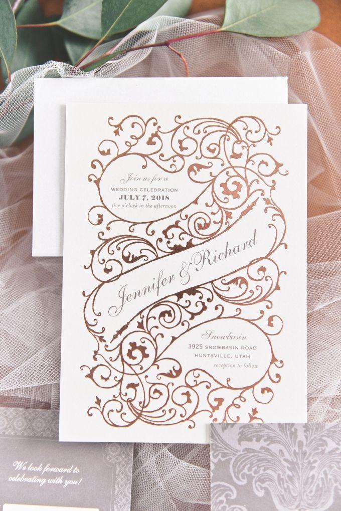 wedding invitations divas%0A Wedding Paper Divas   wedding invitations   Glamour  u     Grace