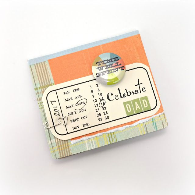 Father's Day Photo Flip Book Tutorial by Dana Tatar for Scrapbook Adhesives by 3L