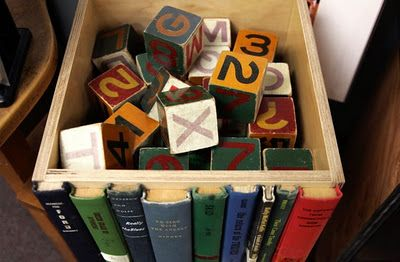 Use those old books you don't read anymore to create a unique bookspines box. Your very own secret storage :)