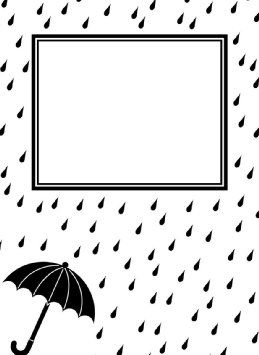 Embosovaci kapsa / Raindrops and umbrella