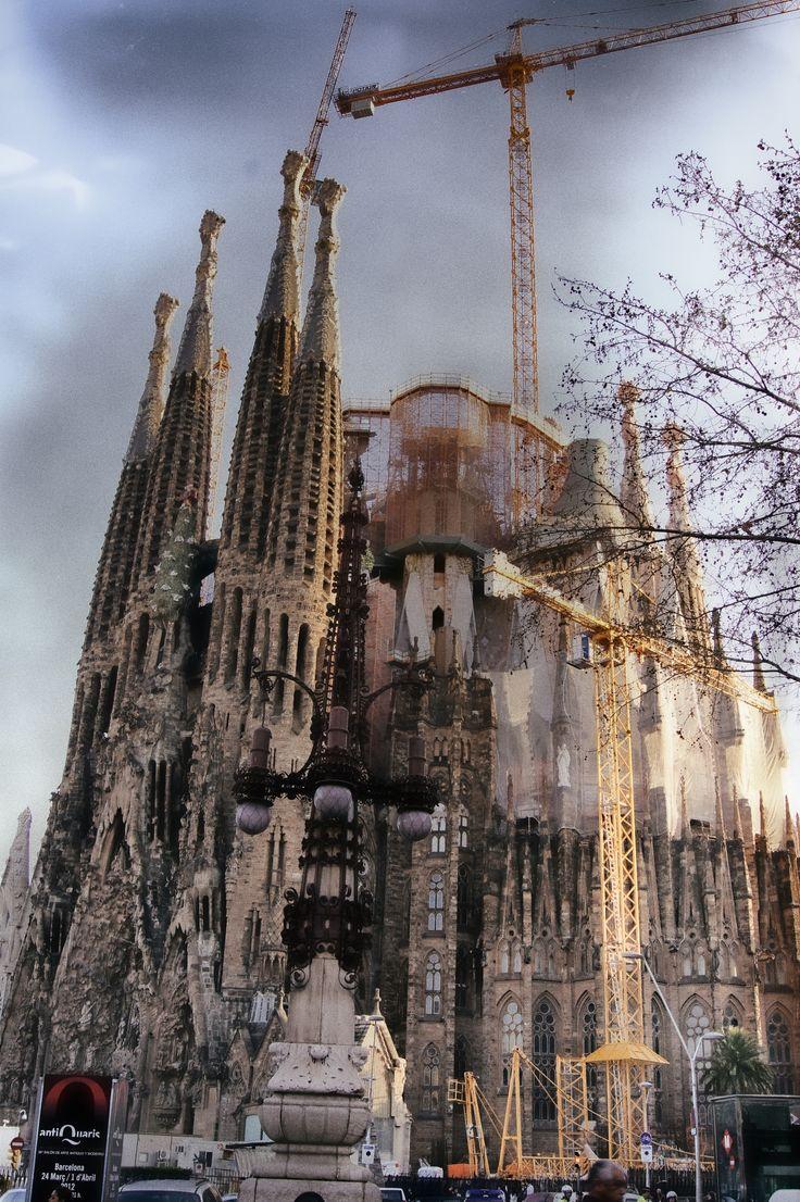 Sagrada Familia, Barcelona. Spain