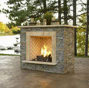 144 best backyard fireplace/firepits images on Pinterest   Outdoor ...