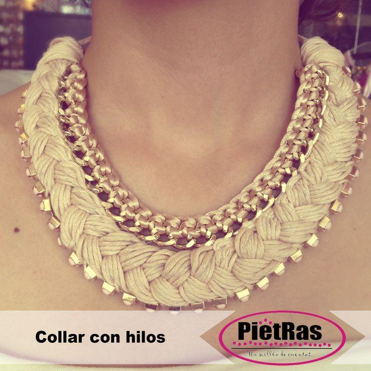 Collar De Hilo Y Cadena 'S