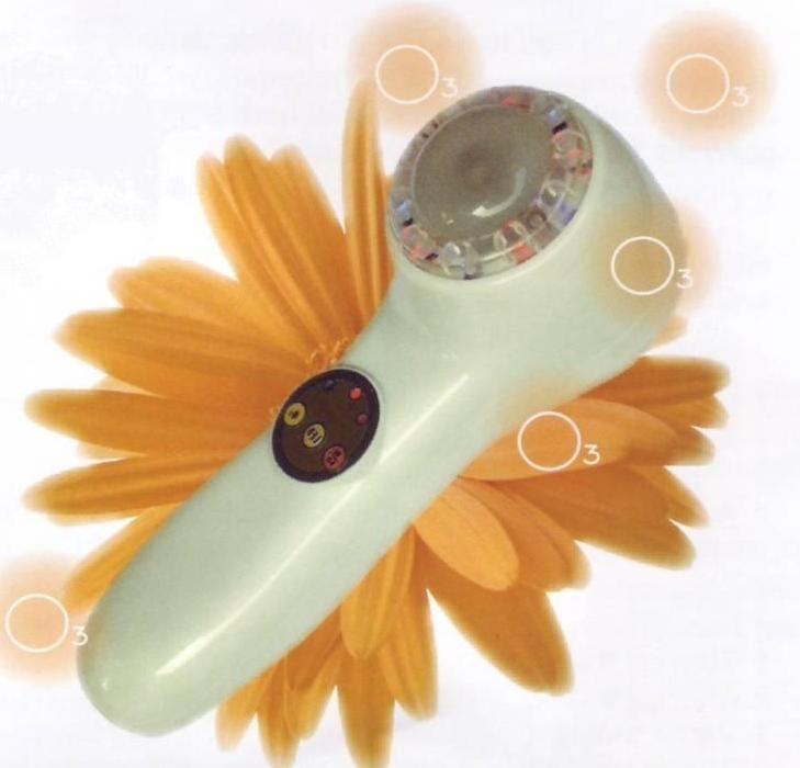 beauty skin ozono peeling  esfolia la pelle con laser led