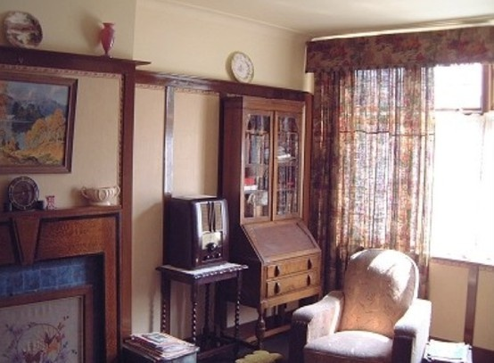 Old Living Room 1940