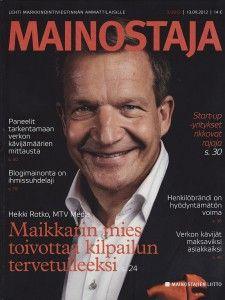 Intunex featured in Mainostaja magazine issue 3/2012.