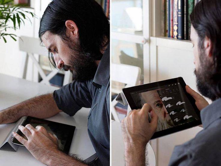 Ζωγραφική με τα χέρια και ένα ipad... Διαβάστε το άρθρο στην ΕΛΕΥΘΕΡΙΑ http://www.eleftheriaonline.gr/stiles-sxolia/funny-strange/item/47585-zografiki-me-ta-xeria-kai-ena-ipad