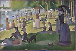 Title: A Sunday on La Grande Jatte Designer: Georges Seurat Date it was created: 1884 Medium: Oil on Canvas Category: Artwork Something interesting about the piece: One of the best art pieces in history.