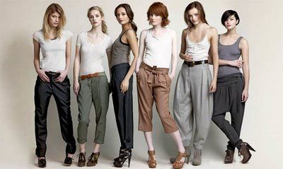 how to wear your harem pant