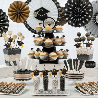 Maybe The Trifle Container amp Other Clear Containers For FoodClassy Grad Treats Ideas In Black