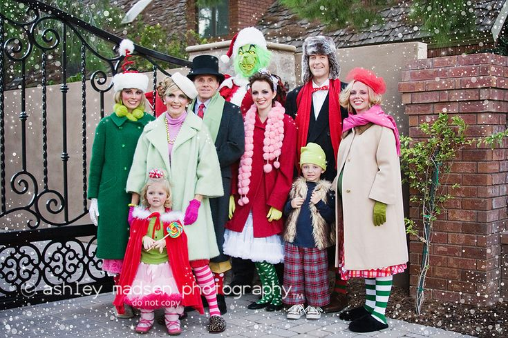 whoville costumes | ... costumes for a couple months, but here is our Whooville family card