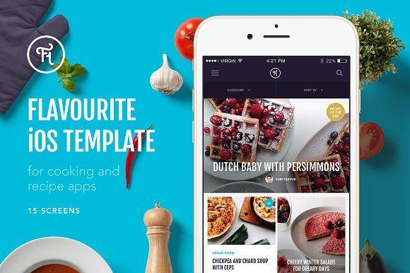 Flavourite iOS Template - Websites
