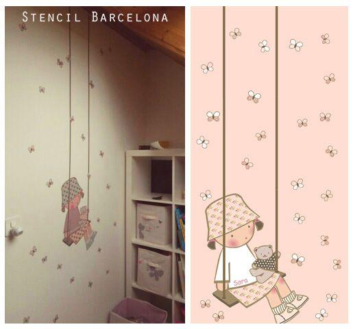Vinilosinfantiles de stencil barcelona vinilos - Stencil barcelona ...