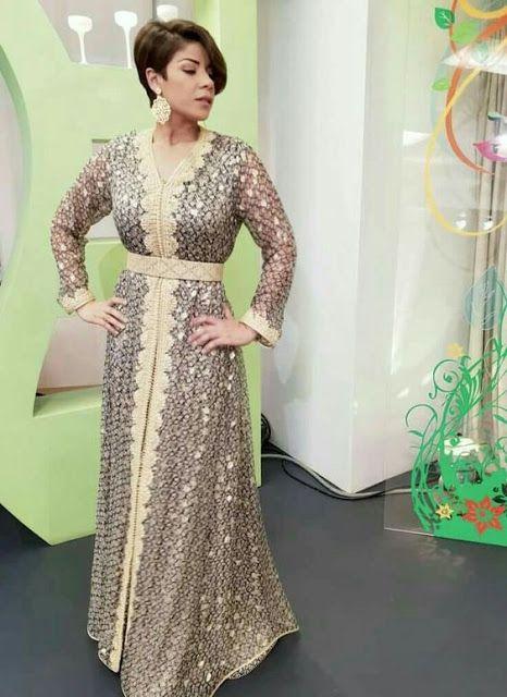 Caftan 2018 Nouveaux Modèles Takchita Pour Femmes - Caftan Marocain de Luxe  2018   Boutique Vente Caftan Pas Cher 4fa5ef6009f