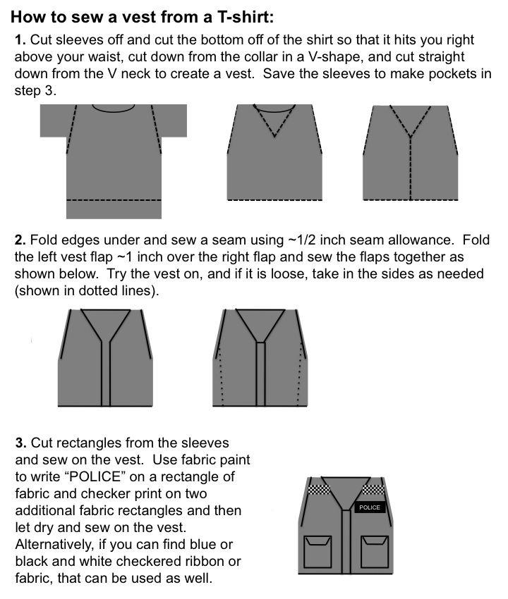Amy Pond Kissogram Police Outfit vest t-shirt