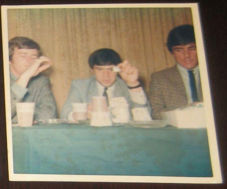 Dave Clark Five June 19th 1965 CANDID Polaroid Photo #3 Philadelphia Convention