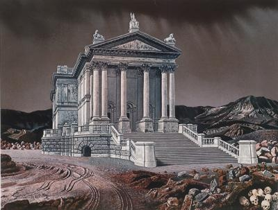 """""""De Tate Gallery verplaatst (The Tate Gallery Moved)"""", 1970 / Carel Willink (1900-1983) / Private Collection"""