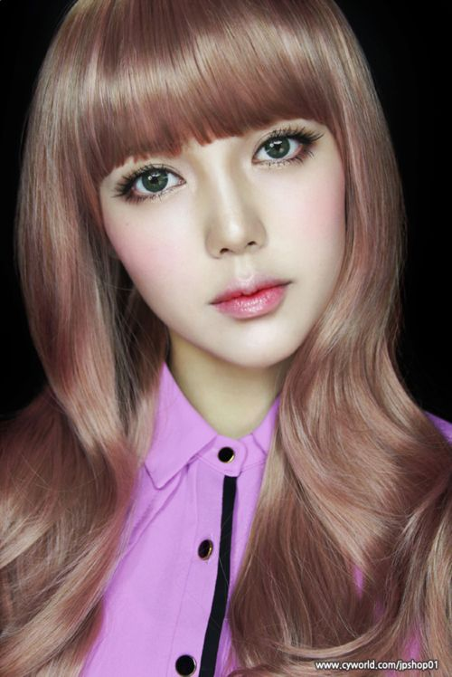 #ulzzang korean doll Pony