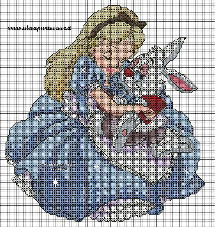 schema Alice punto croce