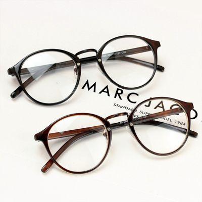 Círculo de cosecha no- la corriente principal de las mujeres gafas de espejo llano grande macho ultra- luz nerd gafas marco