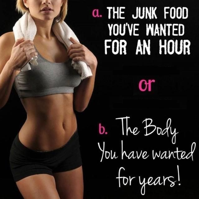 Your body is a reflection of your lifestyle. #weightloss #junkfood #workout