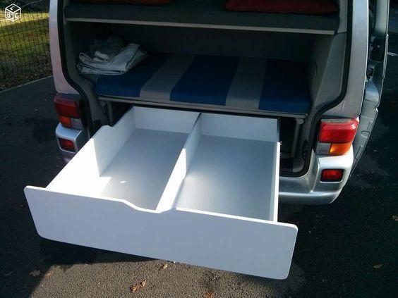 Amenagement, meuble, coffre, tiroir vw multivan t4 Equipement Caravaning Gironde - leboncoin.fr