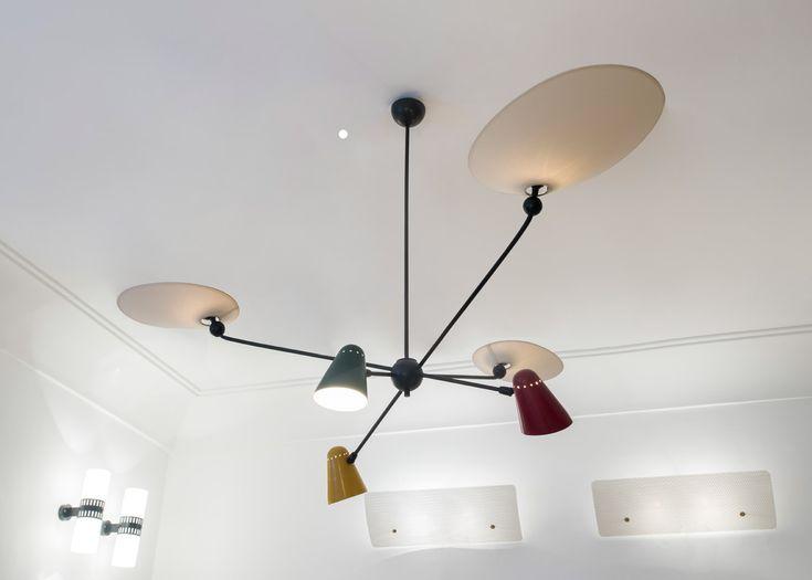 french lighting designers. the enlightened 50s lighting exhibition illuminates londonu0027s galerie kreo french designers