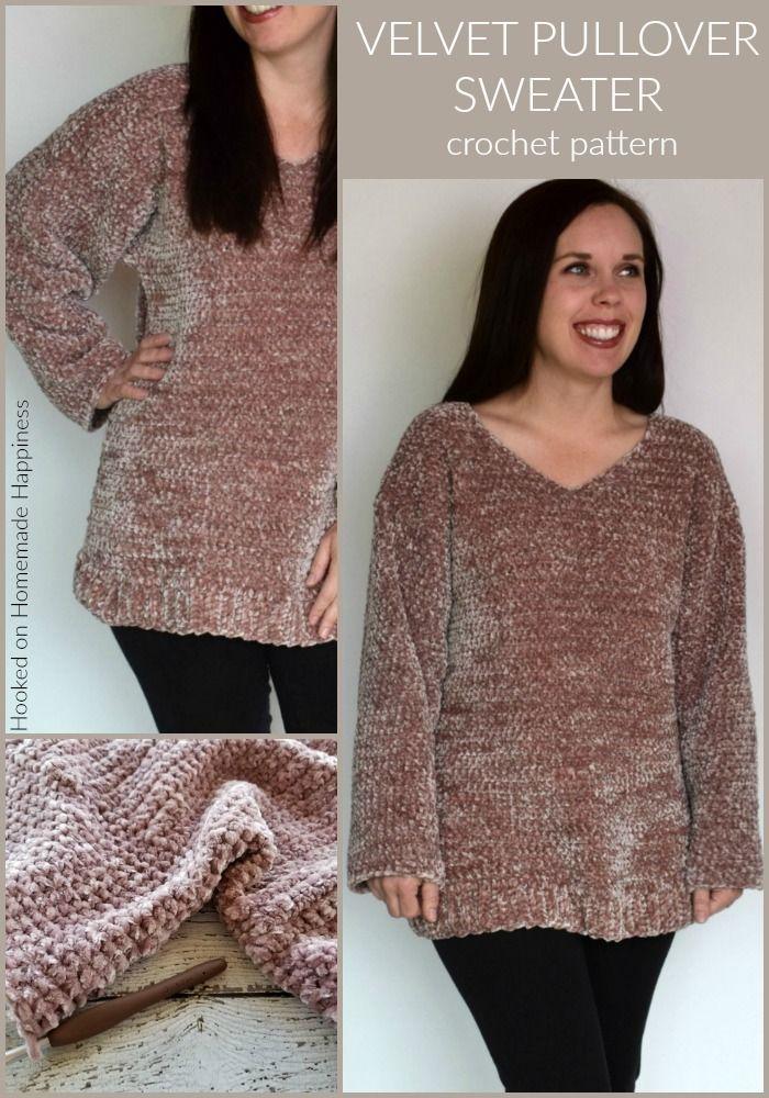 Brown Velvet and Crochet Jacket