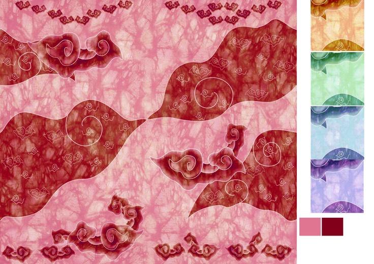 pink of batik