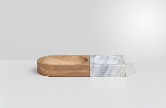 Bo Concept. Wood and marble.