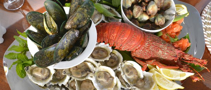 Fresh Marlborough seafood is just one of the luxuries prepared for you by your own private chef onboard MV Tarquin...