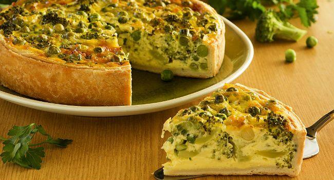 Torta integral de brócolis de liquidificador para fazer rápido e não engordar