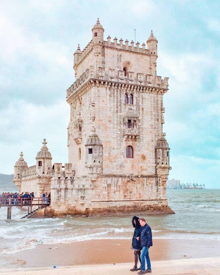 Tower power Un caro caro ricordo della Torre di Belem dal mio viaggio in Portoga…