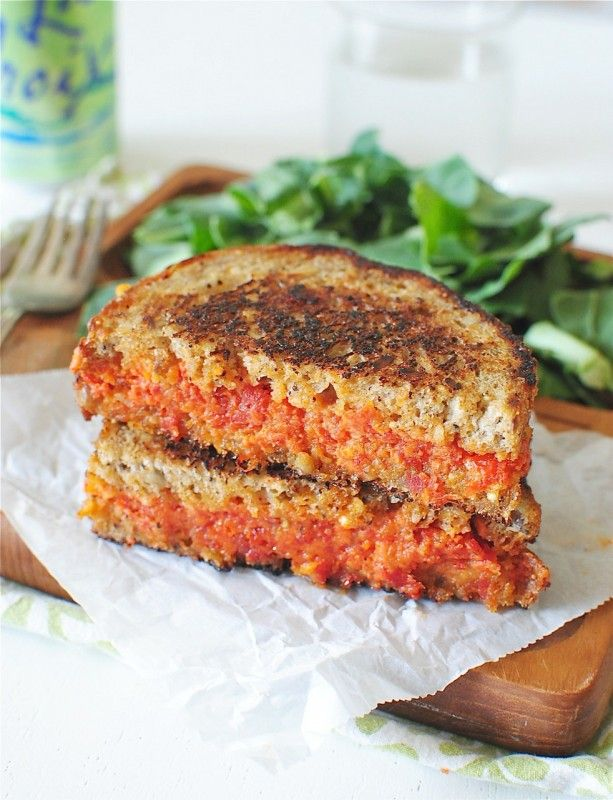 Sun-Dried Tomato and Mascarpone Grilled Cheese Sandwich - Bev Cooks