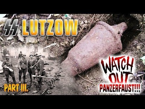 WW2 metal detecting - We found live Panzerfaust on Waffen SS Lutzow position part 3 - YouTube