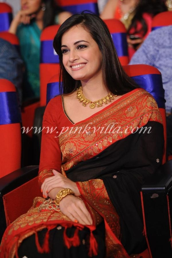 Ameesha Patel & Dia Mirza at the TSR-TV9 film awards 2012 | PINKVILLA